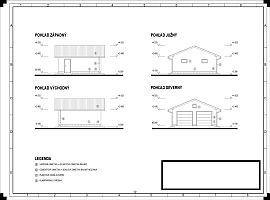 Hospodarska budova projekt